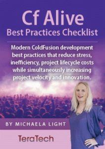 ColdFusion Alive Best Practices Checklist