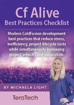 ColdFusion Alive Best Practices ebook cover