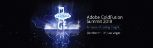 Adobe ColdFusion Summit 2018 Pre-Conference Shows- and It Looks Awesome!