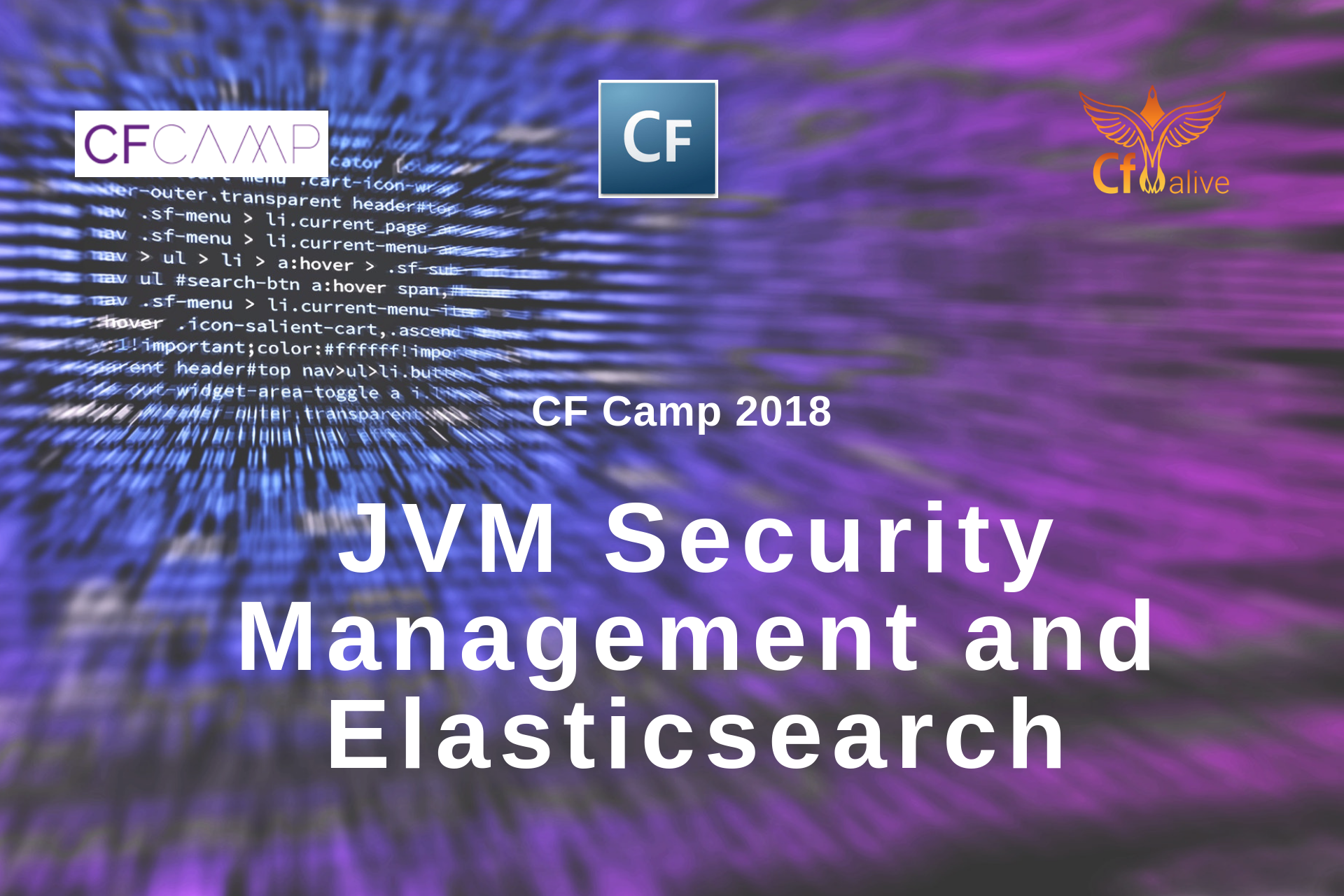 CF Camp 2018: Madness in Munich Part One – JVM Security Management and Elasticsearch