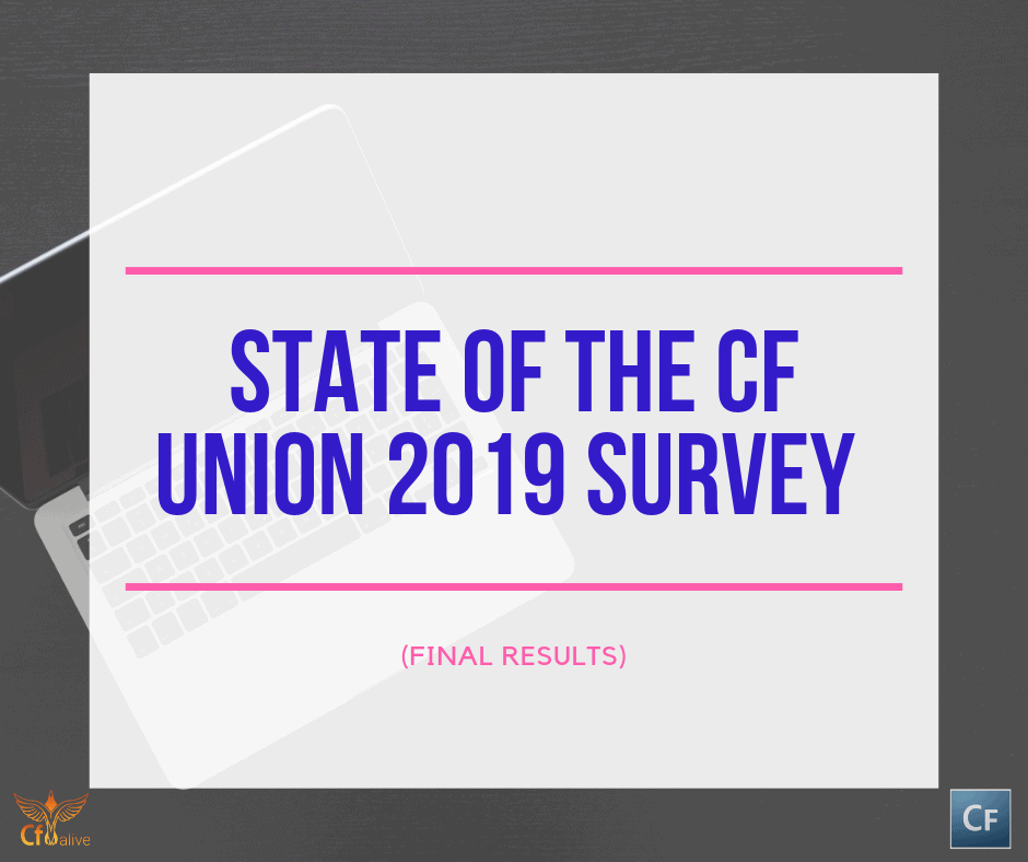 State of the CF Union 2019 Survey (Partial Results)